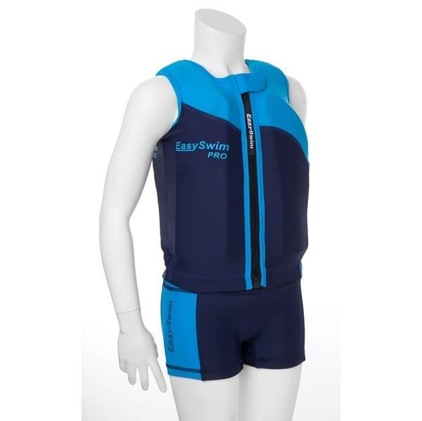 shop5652100.pictures.EasySwim Pro drijfpakje drijfpak jongens drijfvest zwemvest zwembroek zwempak met drijvers blauw 1