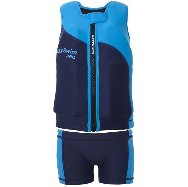 shop5652100.pictures.EasySwim Pro drijfpakje drijfpak jongens drijfvest zwemvest zwembroek zwempak met drijvers blauw 3