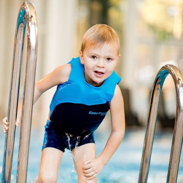 shop5652100.pictures.EasySwim Pro drijfpakje drijfpak jongens drijfvest zwemvest zwembroek zwempak met drijvers blauw 4