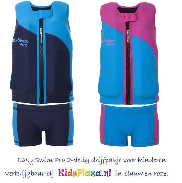 shop5652100.pictures.EasySwim Pro drijfpakje drijfpak jongens drijfvest zwemvest zwembroek zwempak met drijvers blauw 6